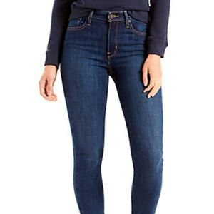 Levis' - Mid Rise Skinny Blue Jeans - Size 30